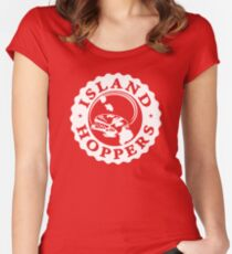 """Island Hoppers"" - As Seen on ""Magnum P.I."" Women's Fitted Scoop T-Shirt"
