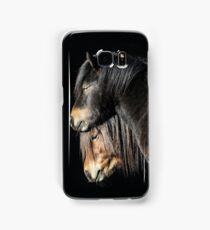 30.3.2017: Shetland Ponies Samsung Galaxy Case/Skin