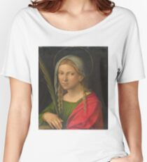 Garofalo - Saint Catherine Of Alexandria Women's Relaxed Fit T-Shirt