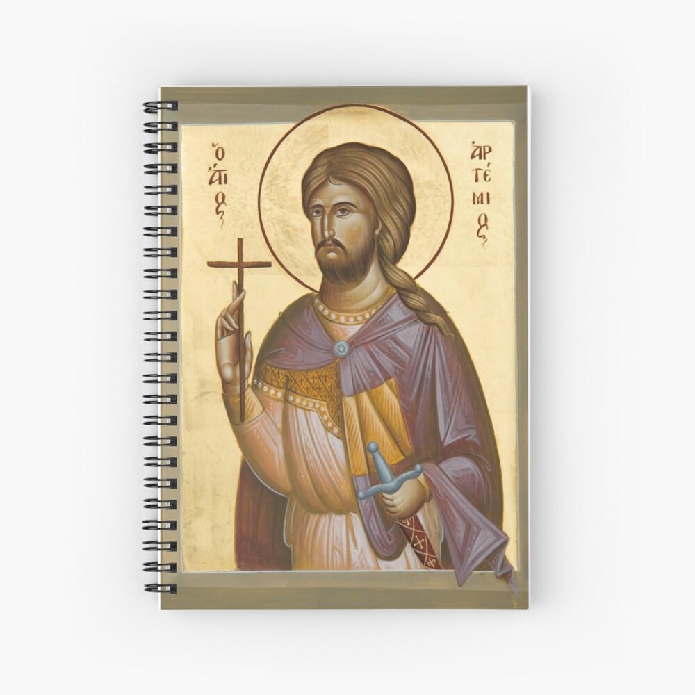 St Artemios Spiral Notebook