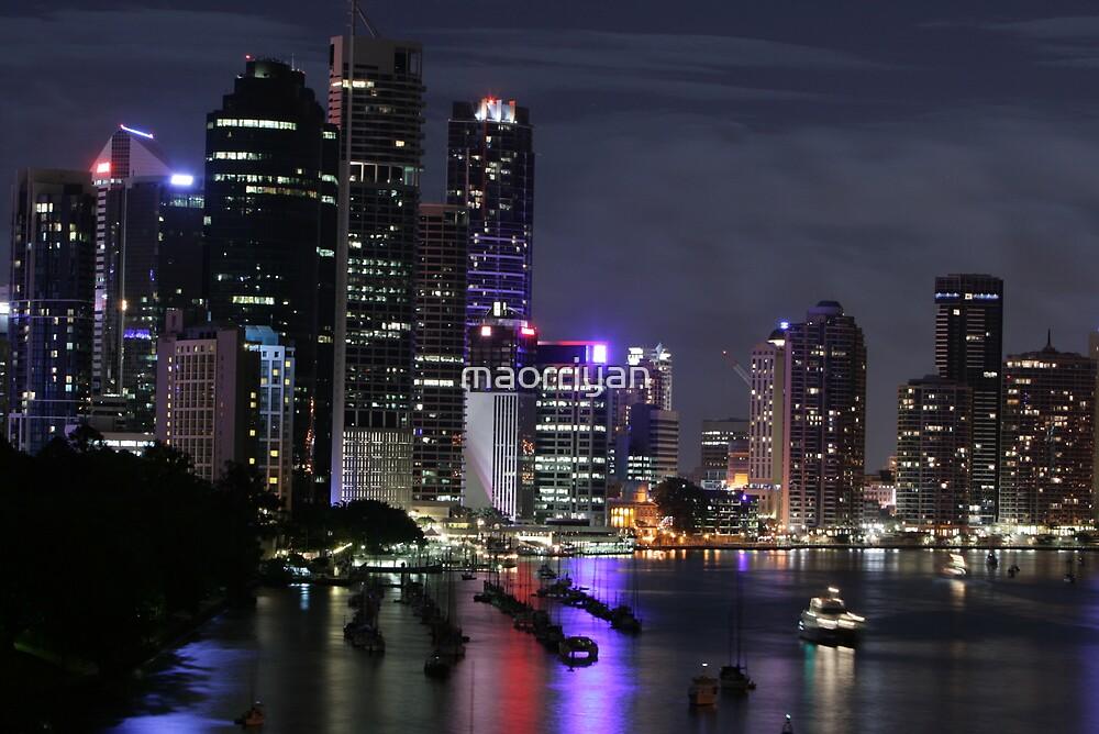 Brisbane City-04 by maorriyan