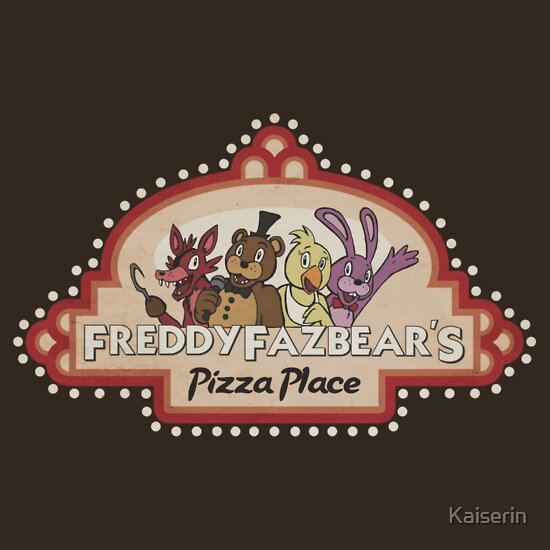 TShirtGifter presents: Five Nights at Freddy's Freddy Fazbear's Logo | Unisex T-Shirt