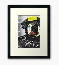 King of sorrow Framed Print
