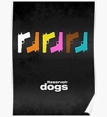 Reservoir Dogs - minimal movie poster - #2  Poster