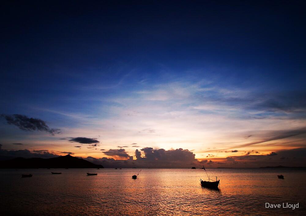 Coastal Sunset by Dave Lloyd