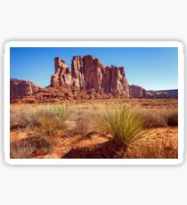 Elephant Butte in Monument Valley Sticker