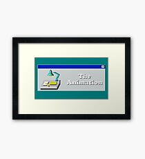 Title Card - The Animation Framed Print