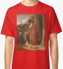 George Morland - The Squires Door  1790 Classic T-Shirt
