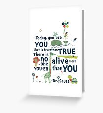 Dr Seuss Day Greeting Card