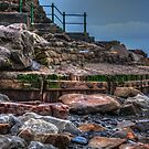 Stairs @ St Ouens - Jersey by MickDodds
