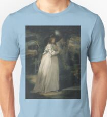 George Morland - Portrait Of A Girl In A Garden Between 1786 Unisex T-Shirt