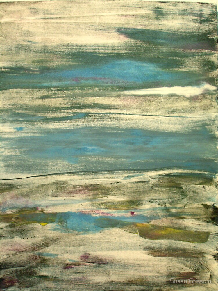 abstract landscape II by Susan Grissom