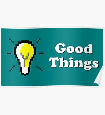 Title Card - Good Things Poster