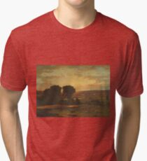 George Inness - Peace And Plenty Tri-blend T-Shirt