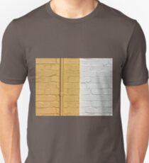 Yellow white bricks wall T-Shirt