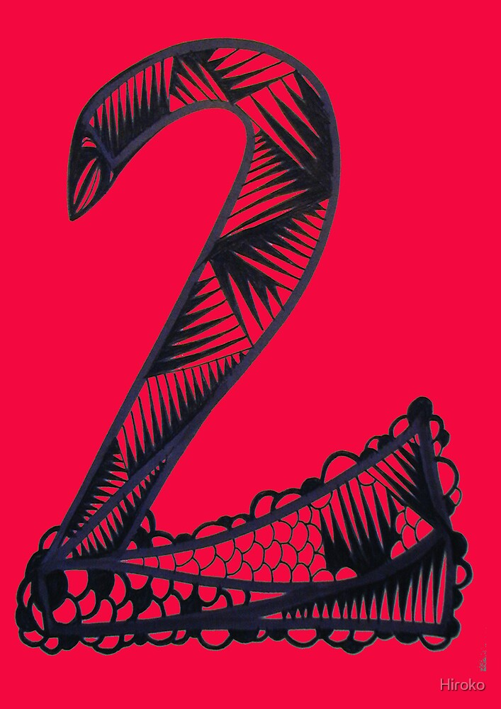 Numeric Series 2.a - Snake by Hiroko