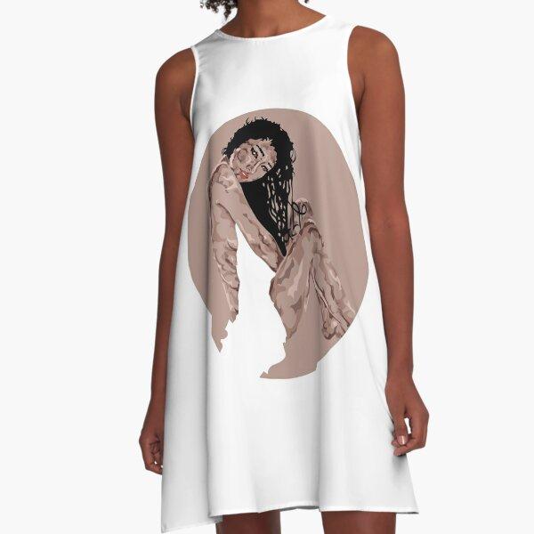 Blanket A-Linien Kleid