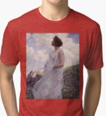 George Hitchcock - Calypsoabout 1906 Tri-blend T-Shirt
