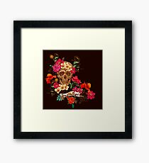 Day Of The Dead III Framed Print