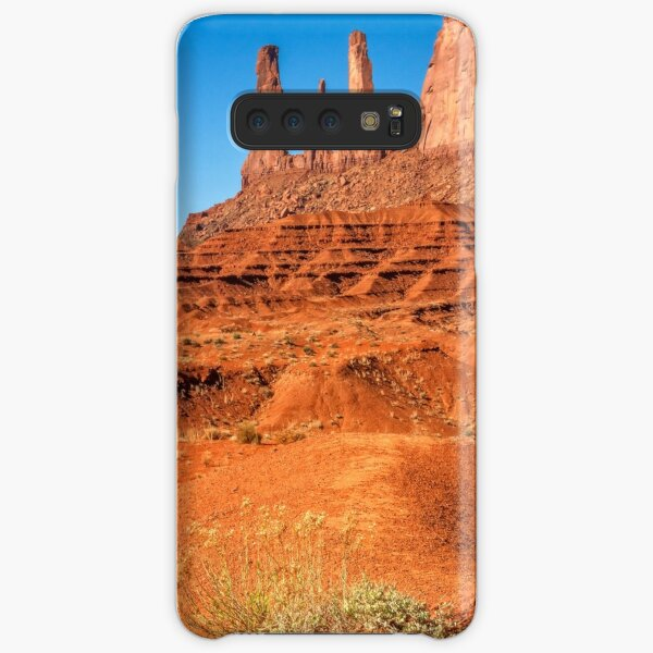 Golden Flowers and the Three Sisters in Monument Valley Samsung Galaxy Snap Case
