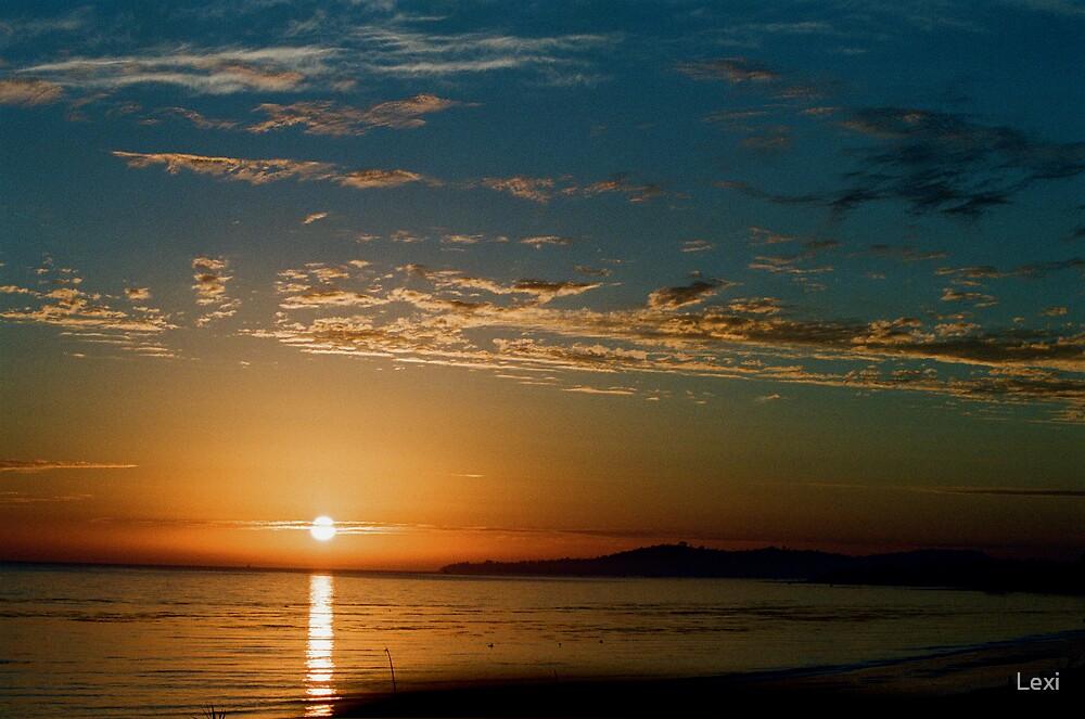 Sun Setting Over Santa Barbara by Lexi
