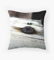 Screw Throw Pillow