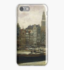 George Hendrik Breitner - The Damrak, Amsterdam, 1903 iPhone Case/Skin