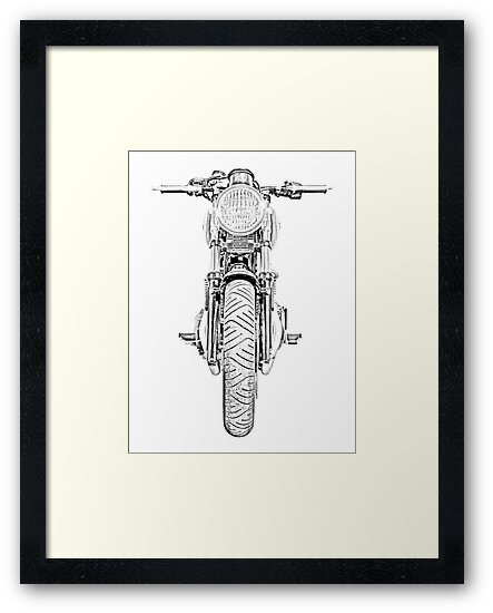 Motorcycle Front by surgedesigns