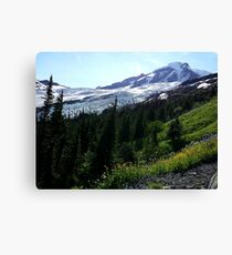 Mt. Baker Washington - North Face Canvas Print