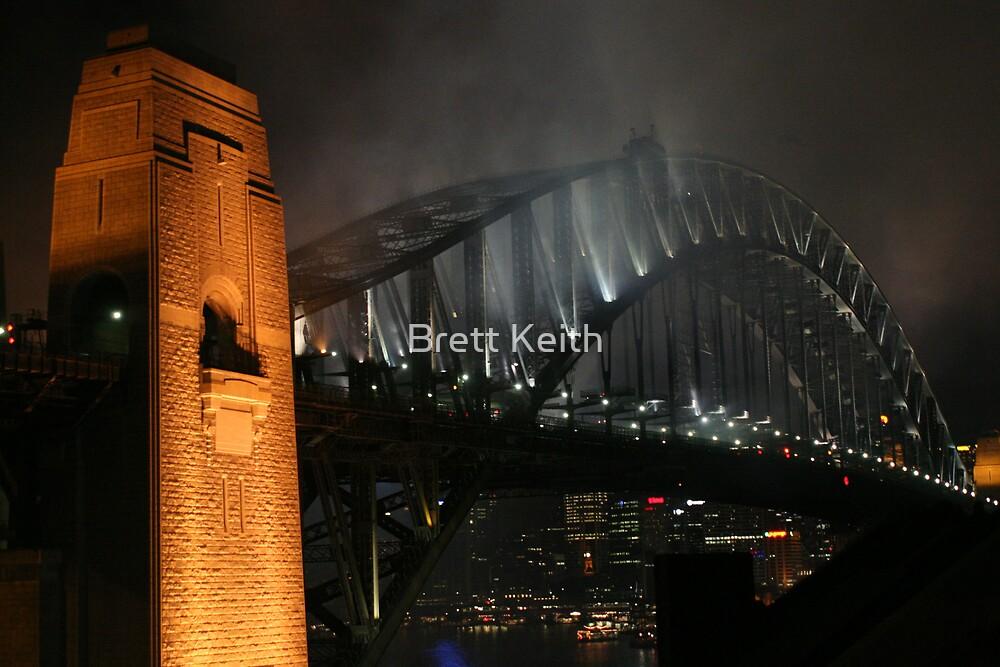 Bridge on Fire by Brett Keith