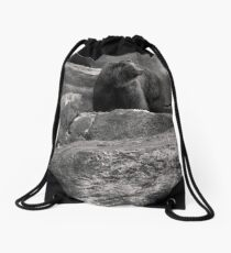 There's a lot to be said for hibernation. Drawstring Bag