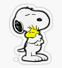 Snoopy love Sticker