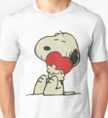 Snoopy love Unisex T-Shirt