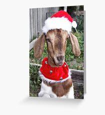 Christmas Boy Greeting Card