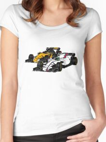Formula 1 Racing Women's Fitted Scoop T-Shirt