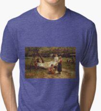 Frederick Morgan - The Apple Gatherers Tri-blend T-Shirt