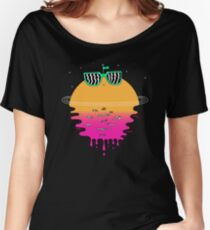 Happy Sunset Women's Relaxed Fit T-Shirt