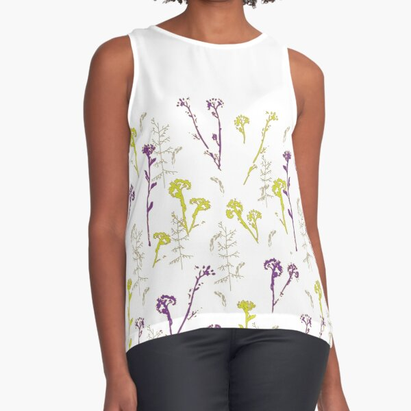 Wild Flowers Sleeveless Top