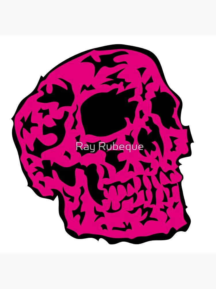 pink Skull by Rektozhan