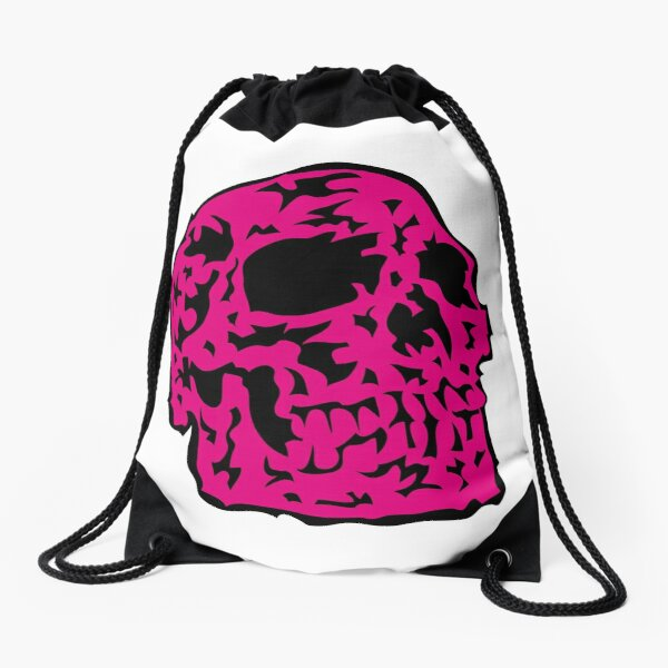 pink Skull Turnbeutel