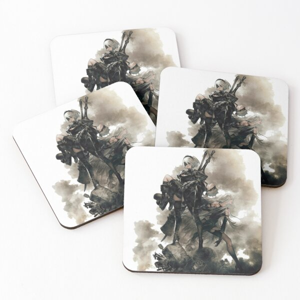 NieR:Automata Coasters (Set of 4)