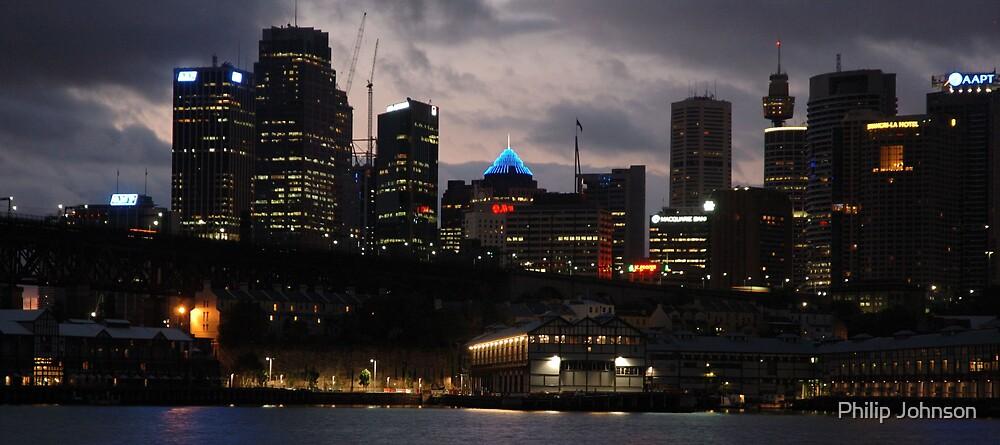 City Awakes - Sydney & Harbour by Philip Johnson