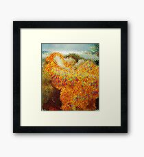 After Chuck Close and Leighton - Portrait - Flaming June Framed Print