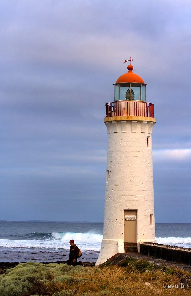 Lighthouse. by trevorb