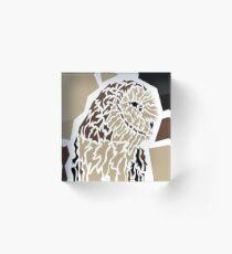 Owl Acrylblock