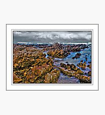 Low tide on the Rocks Photographic Print