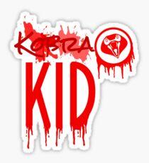 Kobra Kid Paint Splatter Sticker