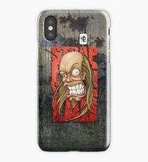Devin Townsend Strapping Young Lad Red Letters iPhone Case/Skin