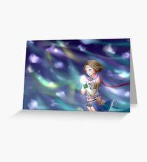 FFX-2: I Love You Greeting Card