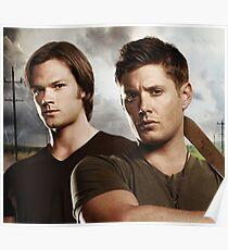 Sam And Dean Supernatural 1 Poster